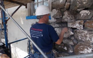 Restoration Contractor at Work