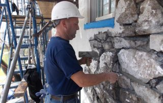 Restoration Contractors at Work