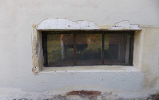 damaged basement windows