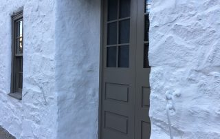 painted doorway